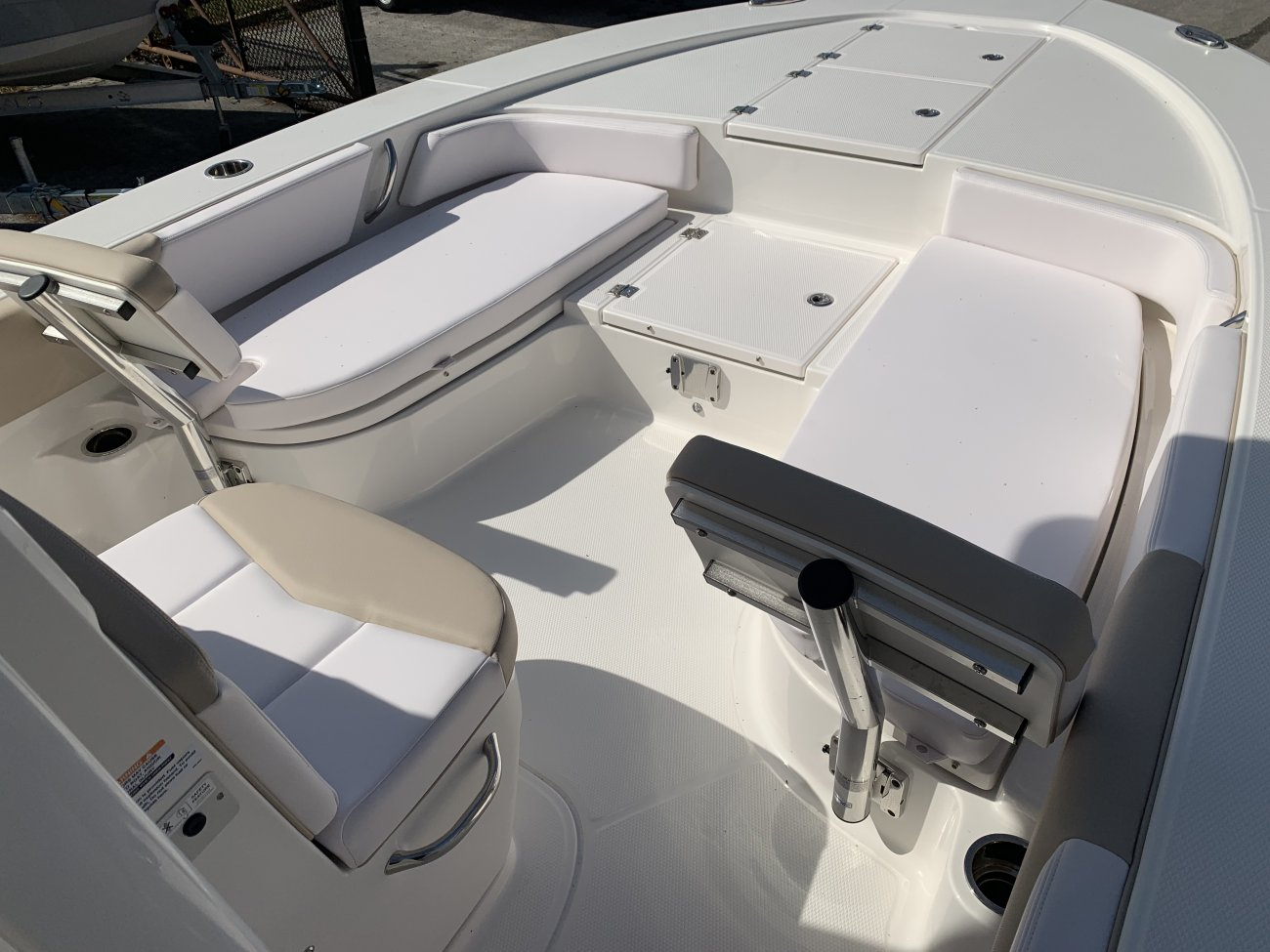 A 246 Sky Deck Cayman Bay Boat is a Power and could be classed as a Bay Boat, Center Console, Freshwater Fishing, High Performance, Saltwater Fishing, Runabout,  or, just an overall Great Boat!